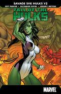 Fall of the Hulks The Savage She-Hulks Vol 1 2