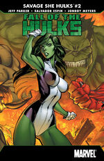 Fall of the Hulks The Savage She-Hulks Vol 1 2