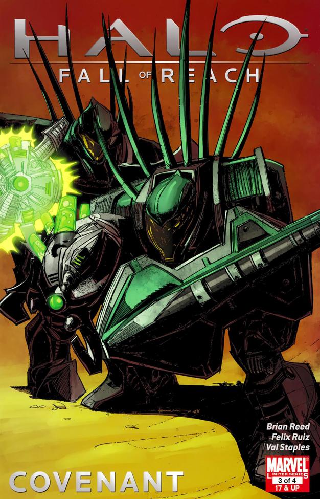 Halo Fall Of Reach Covenant Vol 1 3 Marvel Database Fandom