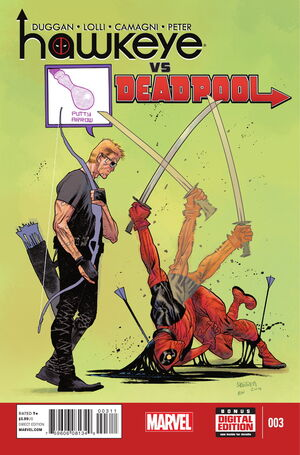 Hawkeye vs. Deadpool Vol 1 3