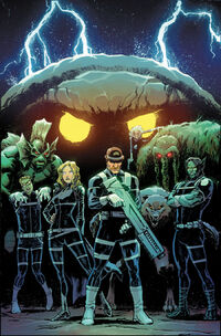 Howling Commandos of S.H.I.E.L.D. Vol 1 3 Marquez Variant Textless