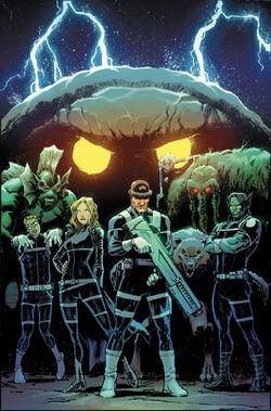 Howling Commandos of S.H.I.E.L.D. Vol 1 3 Marquez Variant Textless
