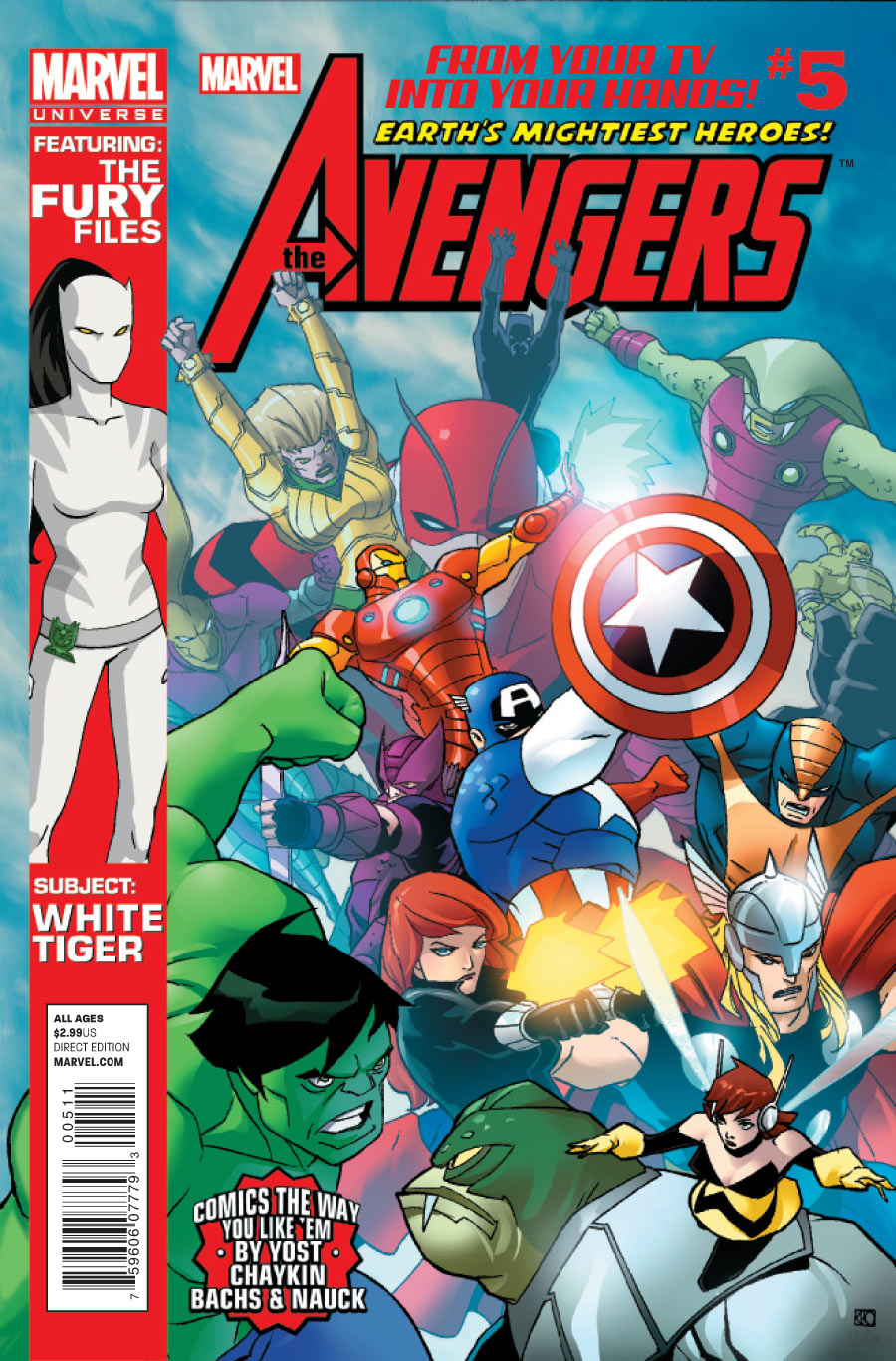 Marvel Universe Avengers Earth S Mightiest Heroes Vol 1