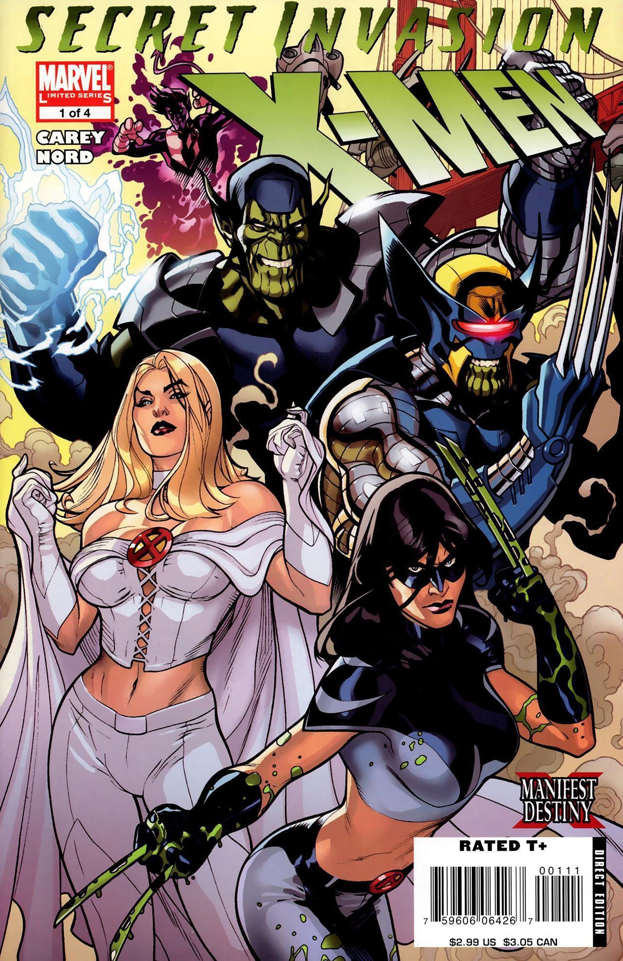 Secret Invasion X-Men Vol 1 1