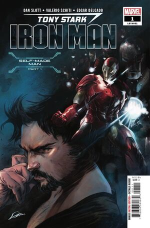 Tony Stark Iron Man Vol 1 1