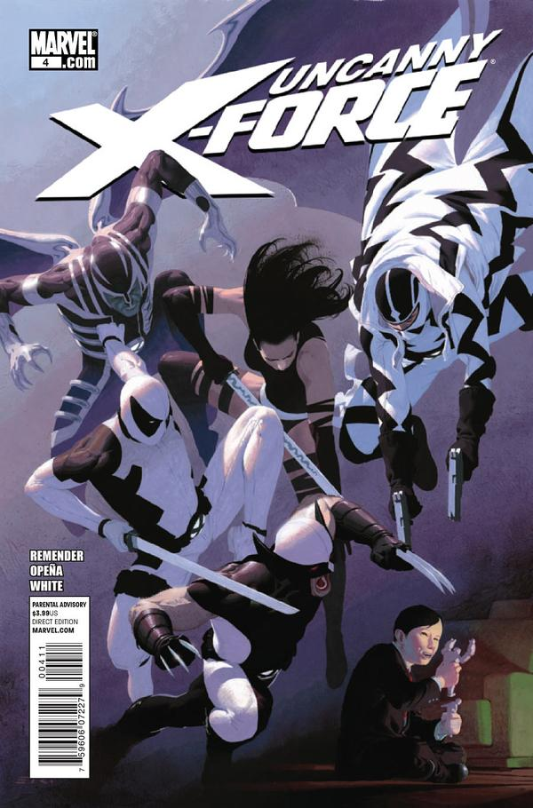 Image result for uncanny x-force 4