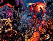 X-Men,Spider-Man, Fantastic Four & E.D.I. (Earth-1610)