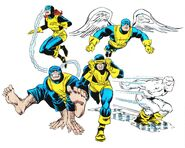 X-Men (Earth-616) from Official Handbook of the Marvel Universe Master Edition Vol 1 23