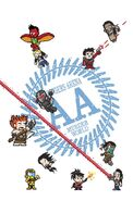 Avengers Arena Vol 1 14 8-Bit Variant Textless