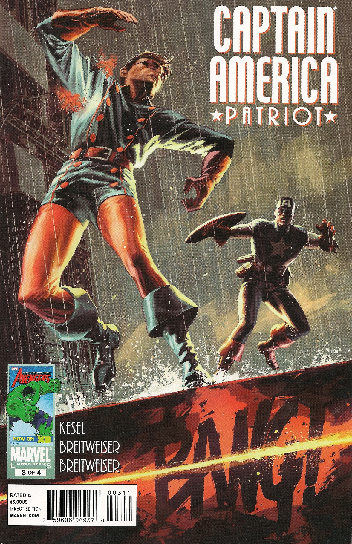 Captain America Patriot Vol 1 3
