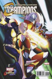 Champions Vol 2 11 Marvel vs. Capcom Variant