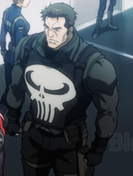 Frank Castle (Earth-101001) from Avengers Confidential Black Widow & Punisher 001