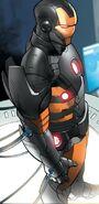 Iron Man Armor Model 42 from Iron Man Fatal Frontier Infinite Comic Vol 1 5