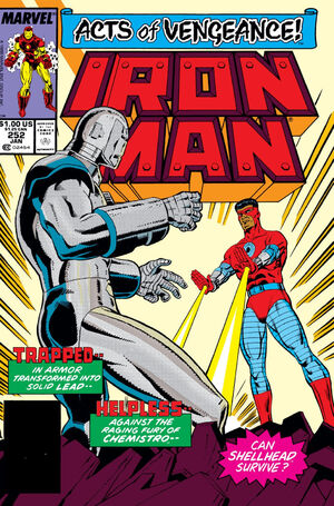 Iron Man Vol 1 252
