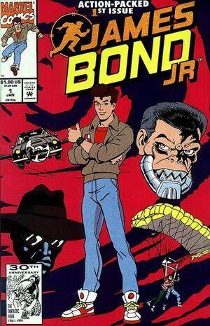 James Bond, Jr. Vol 1 1