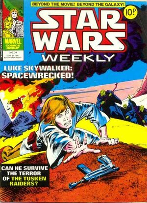 Star Wars Weekly (UK) Vol 1 34