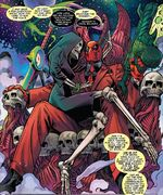 Wade Wilson (Earth-94535) and Death (Earth-94535) from Deadpool The End Vol 1 1 0001