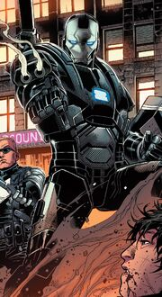 War Machine Drones (Earth-616) from Avengers Vol 5 35 001