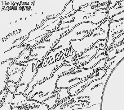 Aquilonia from Conan Saga Vol 1 5