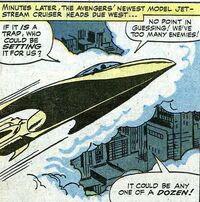 Avenger's Jet Stream Cruiser (Avengers -17)