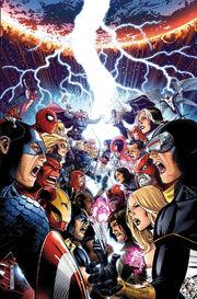 Avengers vs. X-Men Vol 1 1 Textless