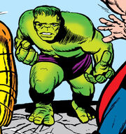 Bruce Banner (Earth-616) from Avengers Vol 1 1 0004