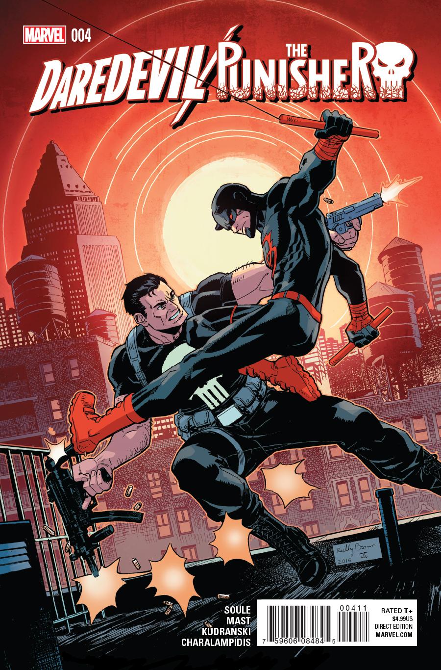 Daredevil Punisher Vol 1 4 Marvel Database Fandom