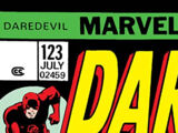 Daredevil Vol 1 123