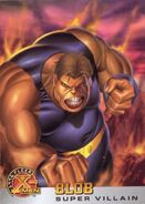 Frederick Dukes (Earth-616) from X-Men (Trading Cards) 1996 Set 0001