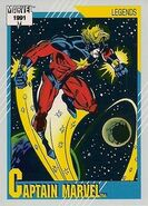 Mar-Vell (Earth-616) from Marvel Universe Cards Series II 0001