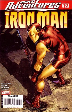 Marvel Adventures Iron Man Vol 1 10