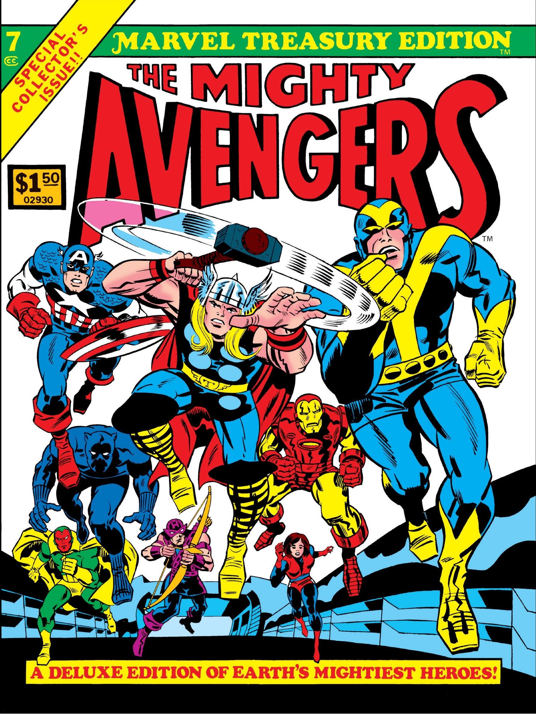Marvel treasury edition 16 | mars will send no more.