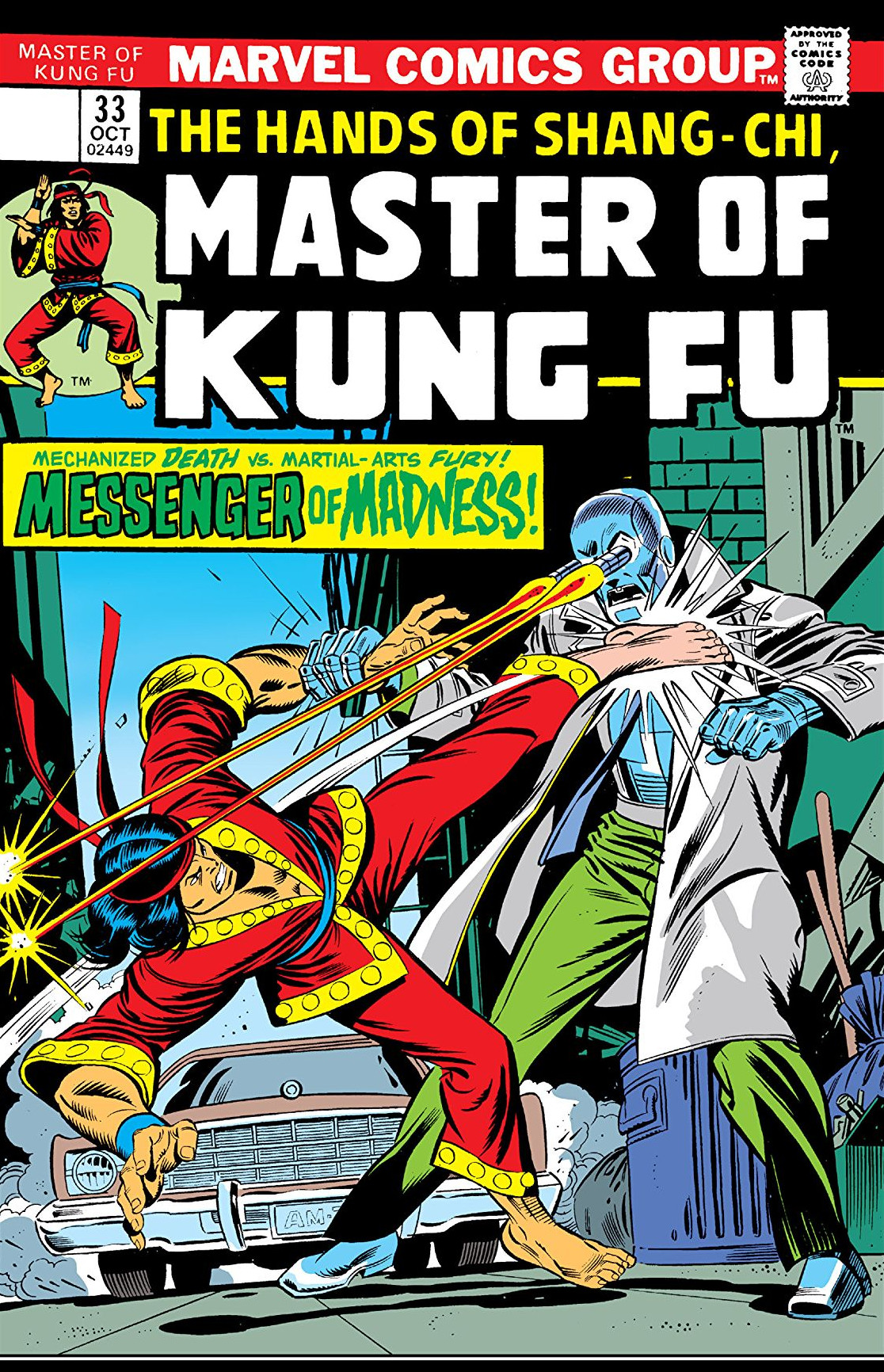 Master Of Kung Fu Vol 1 33 Marvel Database Fandom Powered By Wikia