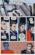 Nation X Vol 1 1 page -- Kurt Wagner & James Howlett (Earth-616)