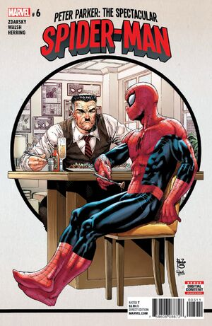 Image result for peter parker spectacular spider-man #6
