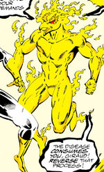 Phoenix Force (Earth-691) from Guardians of the Galaxy Vol 1 35 0001