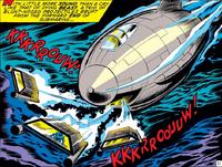 White Dragon's Submarine from Iron Man Vol 1 40