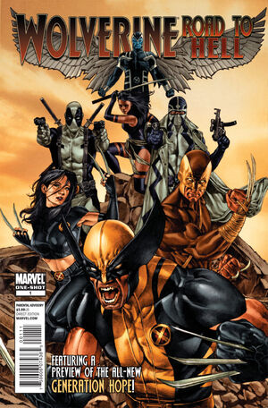 Wolverine Road to Hell Vol 1 1