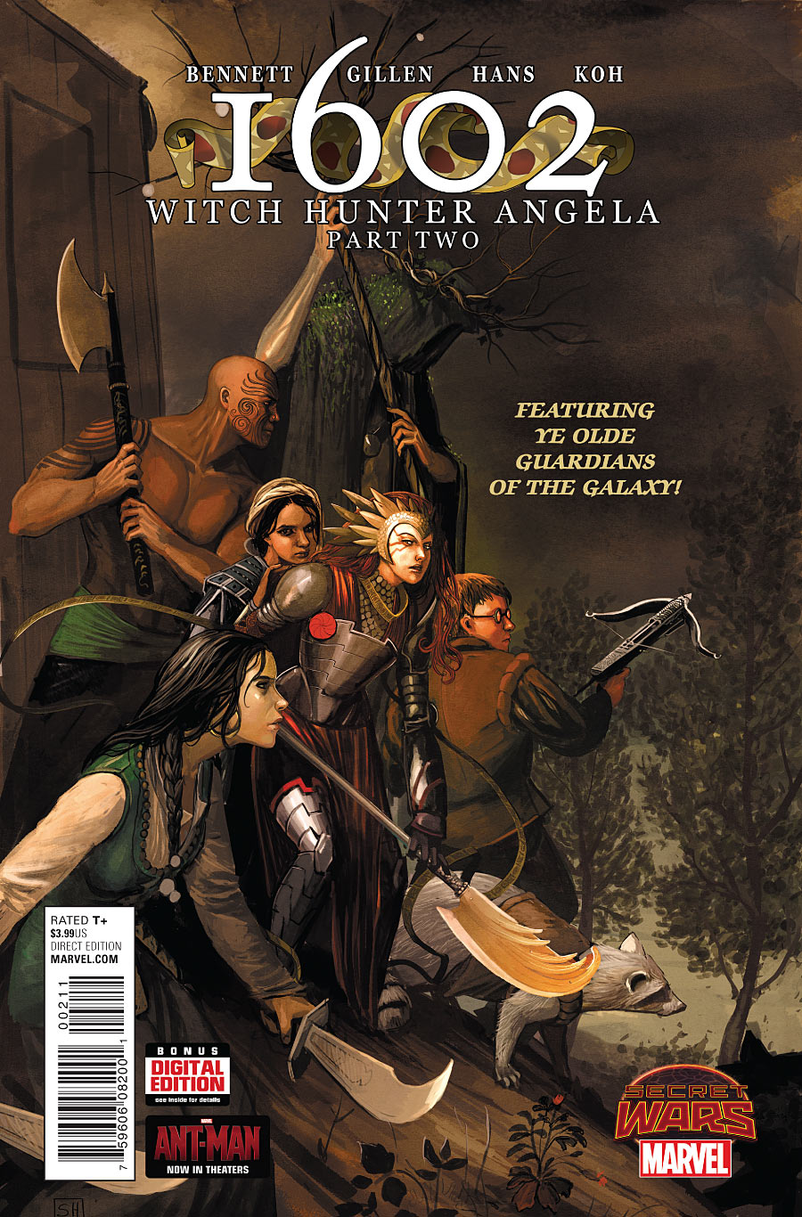 1602 Witch Hunter Angela Vol 1 2 | Marvel Database | FANDOM