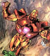Anthony Stark (Earth-616), Bruce Banner (Earth-616), Iron Man Armor Model 26 MK I from Incredible Hulk Vol 2 74 001