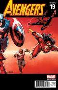 Avengers Vol 5 19 50 Years of Avengers Variant 5