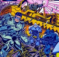Cyber-Nostra (Earth-928) Punisher 2099 Vol 1 4