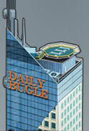 Daily Bugle Building from Spider-Man Unlimited (video game) 001