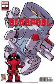 Deadpool Vol 7 1 Young Variant
