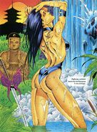 Elizabeth Braddock (Earth-616) from Marvel Swimsuit Special Vol 1 4 0001