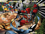 Great Lakes Avengers (Earth-616) vs Wade Wilson (Earth-616) from Cable & Deadpool Vol 1 30 001