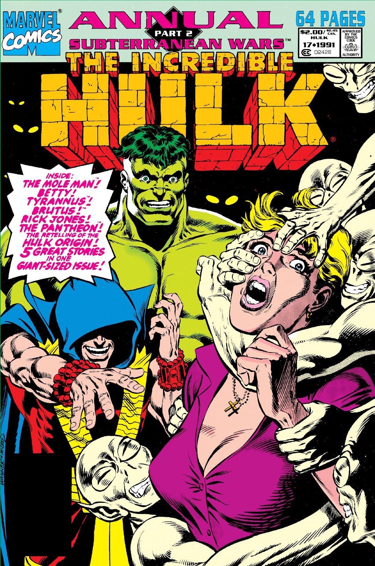 Incredible Hulk Annual Vol 1 17