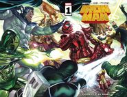 Iron Man Vol 6 1 Wraparound