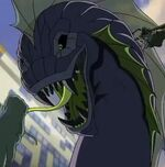 Jormungand (Earth-12041) and Victor von Doom (Earth-12041) from Marvel's Avengers Assemble Season 1 4 001