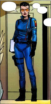 Maria Hill (Earth-616) from Avengers Vol 4 1 0001